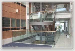 Commercial Glass Handrail